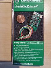 Uhlenbrock 76200 Lokdecoder mot/DCC F. allstrommotoren + Sound Interface la belle