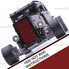1932 Hot Rod (Custom Lego Technic Model) - INSTRUCTIONS ONLY -