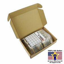 100value 2000pcs 1/4W Carbon Film Resistor +/-5% Kit US Seller KITB0157