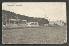 Veendam Stadium Groningen Netherlands stamp 1914