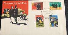 Australia fdc 1980 Community Welfare