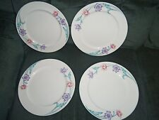 "Lenox Isle Royale Lunch Plates 9 5/8"" Lot of 4 EC"