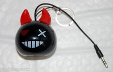 Kit Sound Mini Buddy Devil Bomb - Wired Portable Speaker for iPhone iPad Phones