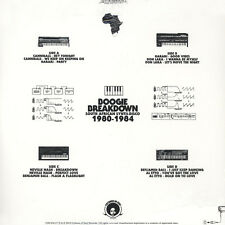 V.A. - Boogie Breakdown: South African Synth- (Vinyl 2LP - 2016 - US - Original)