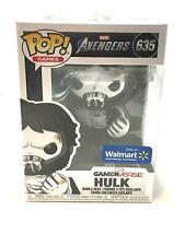 NEW Funko POP! Walmart Exclusive AVENGERS GAME SKELETON HULK GAMERVERSE #635