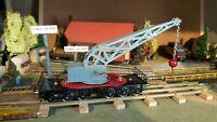 L.R Louis Roussy échelle o superbe wagon à bogie repeint jouet ancien