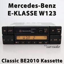 Original Mercedes Classic BE2010 Kassettenradio W123 Radio E-Klasse Autoradio