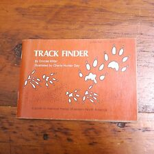 1981 TRACK FINDER Guide Mammal Tracks Eastern North America ILLUSTRATED Book