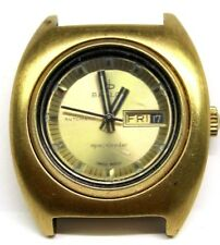 Vintage Ladies Baylor Automatic Gold Plated Day/Date-2nd Hand Wrist Watch