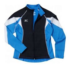 Mizuno 9 Nine Collection Full Zip Jacket Size S Small Navy / Columbia Blue $80