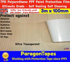 Fahrrad Rahmen Klar Oberfläche Schutz Band Film Aufkleber Wasserfest 1m PVC