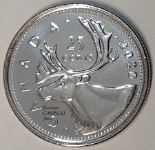 1997 Canada Rare 25 Cent Mint Coin Beauty.
