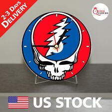 Grateful Dead Watch CD Clock - The Best Gift for a Fan!