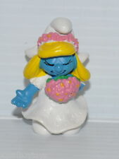 BRIDE SMURFETTE Wedding PVC Figure Schleich New Version  Peyo Smurf