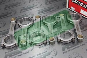 Manley H Beam Rods Fits 350Z G35 Altima Maxima VQ35DE w ARP Bolts 14019-6