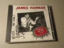 James Harman Band - Strictly Live in 85 Volume 1 CD Rare Blues AUTOGRAPHED