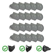 ZEPHIR 20 filtri a carbone, Protezione Antipolvere e Antismog, set di 20
