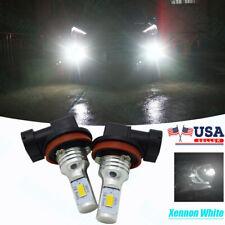 2x Xenon White H11 H8 Led Fog Light Bulbs Drl For Mercedes W211 W212 W164 W221