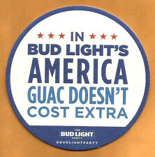 15 Bud Light Party InBud Light's America Guac Doesn't Cost Extra Beer Coasters