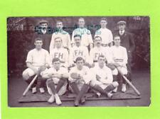 Fairbairn House Baseball Team 1908 Leeds University ? RP pc