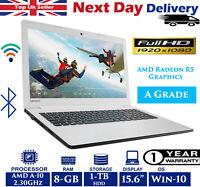 "Lenovo IdeaPad 310 15.6"" Laptop Quad-Core AMD A10 2.30Ghz 8GB RAM 1TB HDD Win 10"