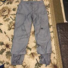 Vtg Nike ACG 3 Outer Layer Mens S Gray Winter Snow boarding ski Pants 100% Nylon