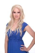 Elegante Womens Yvonne Long Blonde Lace Front Wig Heat Friendly Cosplay