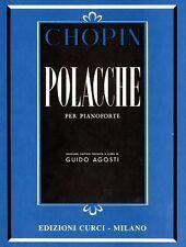 Chopin - POLACCHE per pianoforte - Ed. Curci