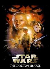 Star Wars THE PHANTOM MENACE Movie Poster by DREW STRUZAN Cereal  RARE