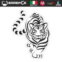 Sticker TIGRE TIGER Adesivo Parete Decal Laptop Vinile Casco Auto Moto Murale
