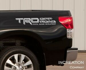 Truck Decals For Toyota Tacoma Tundra TRD Vinyl Stickers, off road graphics, 4x4