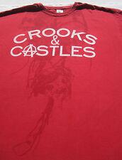 CROOKS & CASTLES size 2XL T-SHIRT xxl