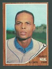 Charley Neal New York Mets 1962 Topps Card #365