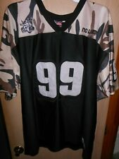 No Limit Records #99 CAMO FOOTBALL JERSEY Mens 2XL