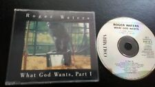 """PINK FLOYD / ROGER WATERS """" WHAT GOD WANTS """" CD SINGLE"""