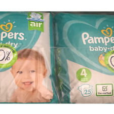 Couche pampers baby dry taille 4 (9-14kg) 104 couches