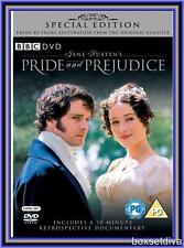 PRIDE AND PREJUDICE - SPECIAL EDITION **BRAND NEW DVD**