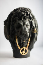 "Carved sculpture ""Leo-rasta"""