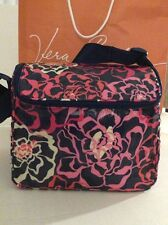 VERA BRADLEY Stay Cooler Insulated Lunch Tote Work / Beach Katalina Pink NWT