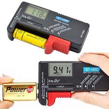 Universel Testeur de Batterie LCD Numerique Pour Pile Bouton AA/AAA/C/D/9V/1.5V