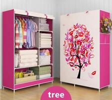Portable Wardrobe Storage Cabinet Closet Children Adults Bedroom Furniture