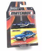 2016 MATCHBOX BEST of MATCHBOX '93 FORD MUSTANG LX SSP - Series 1 - MB969