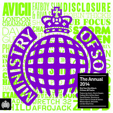Ministry of Sound Dance & Electronica 2014 Music CDs
