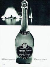 Publicité Advertising 067  1965  champagne Laurent Perrier Le Grand Siècle