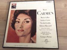 coffret 3 vinyles **BIZET CARMEN ** MARIA CALLAS ..ORCHESTRE GEORGES PETRE
