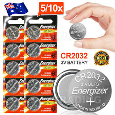 Up to10x ENERGIZER BUTTON COIN CELL CR2032 CR 2032 3v Lithium Battery Batteries