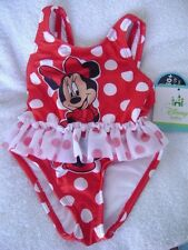 MINNIE MOUSE 1 PC SWIMSUIT - 3/6 MOS. - NEW