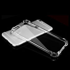 Shockproof 360° Silicone Protective Clear Case Cover For iPhone X 8 7 Plus NEW