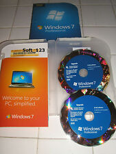 =NEW= Microsoft Windows 7 Professional Upgrade 32 Bit and 64 Bit DVD MS WIN PRO