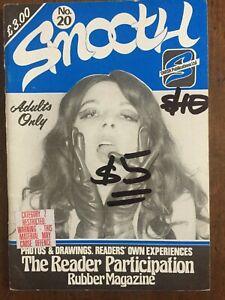 Smooth No 20 Swish Fem Dom TV Rubber Kink Vintage Magazine Collector